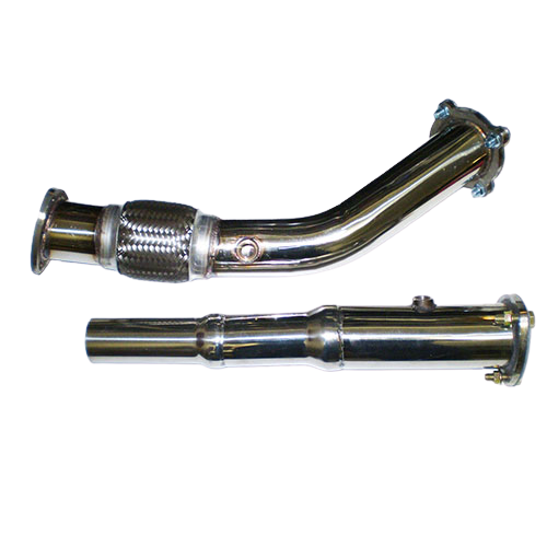 3'' Downpipe voor golf 4, A3, TT, Leon 1.8T De-cat
