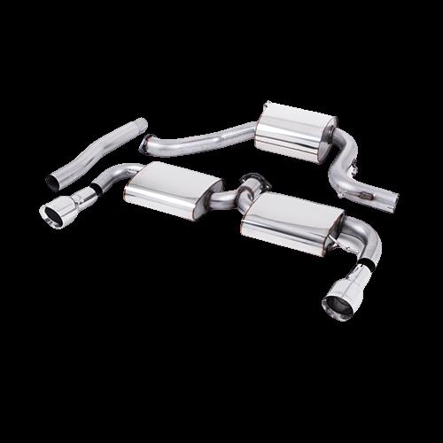 Milltek Cat-Back GT100 Tips Volkswagen Scirocco R 2.0 TSI